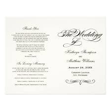 in memory of wedding program quotes for wedding ceremony program best wedding speech