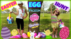 easter egg hunt eggs easter egg hunt toys shopkins eggs frozen