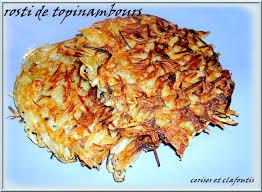 cuisiner des topinambour rosti aux topinambours cerises et clafoutis