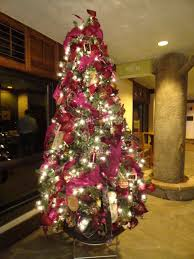 holiday interior design livened up with themed christmas trees