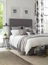 Grey Bed Frame Sunday Morning Style Upholstered Beds Grey Upholstered Bed And