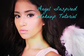 angel inspired makeup tutorial halloween 2013 youtube