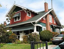 what is arts and crafts architectural style houses characteristics