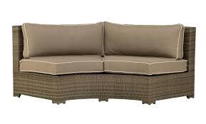 Curved Patio Sofa Curved Outdoor Sofa Set Cross Jerseys
