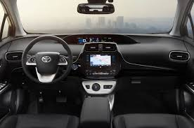 toyota highlander 2016 interior 2016 toyota prius four touring review
