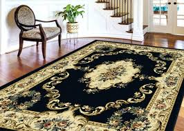 8 X 13 Area Rug 8 X 13 Area Rug Black Traditional Border Floral Roses