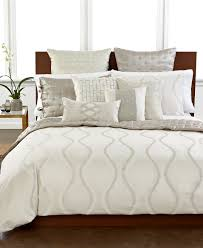 chic and creative hotel collection comforter sets closeout white