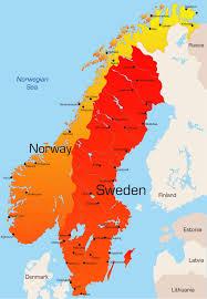 map of sweden map sweden