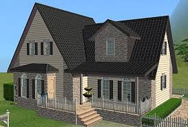 mod the sims simple way 9 cute family house no cc