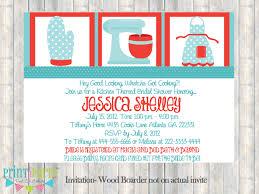 kitchen wedding shower invitations cloveranddot com