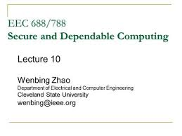 building dependable distributed systems copyright wenbing zhao
