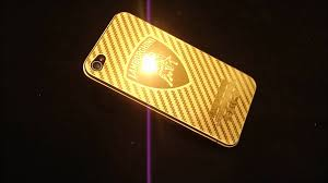 lamborghini logo real 24k gold plated iphone 4 rear lamborghini logo youtube