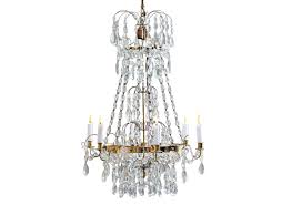 Swedish Chandelier Early 20th Century Brass And Swedish Chandelier Omero Home