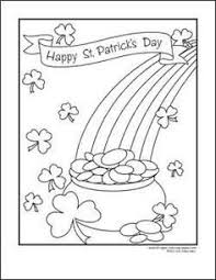 nod free printable coloring pages st patrick u0027s day printable