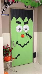 scary halloween classroom door decorations