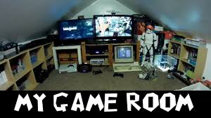 my game room set up my retro gaming man cave 2016 youtube