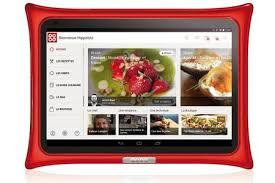 tablette de cuisine qooq tablette culinaire qooq tablette v4 darty