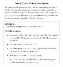 Sample Resume Network Engineer by Dsp Engineer Sample Resume 20 Sample Resumers Imagerackus Lovely