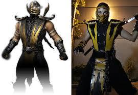 Scorpion Halloween Costume Cosplay Spotlight Hanzo Hasashi U0027s Scorpion Mortal Kombat