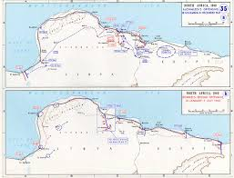 Egypt Africa Map by Map Of German Offensives Into North Africa 1941 1942