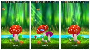 wallpaper 3d mushroom download 3d mushroom live wallpaper for pc gallery