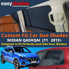 Car Window Blinds Baby Nissan Qashqai J11 2013 On Window Sun Shades For Cars At Easyshades