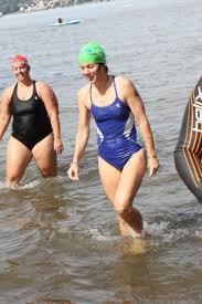 tatiana schlossberg kennedy and daughter swim hudson for charity ny daily news