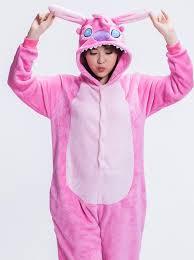 buy costume animal flannel stitch one pajamas