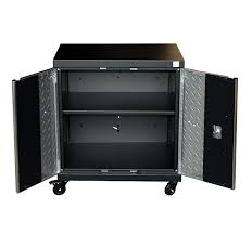 rolling tool storage cabinets rolling tool box storage cabinet cart 2 level adjustable garage w