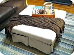 coffee tables mesmerizing creative tufted ottoman coffee table