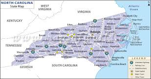 usa carolina map united states map map of usa