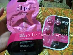 Masker Elips review ellips hair mask and hair vitamin with pro keratin hair repair