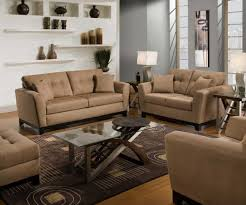 extraordinary comfy living room chairs covered by brown leather