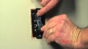 replace the batteries in the wall mounted remote receiver on