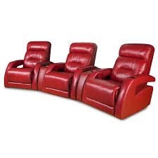 Southern Motion Reclining Sofa by Southern Motion Viva 3 Seat Power Reclining Theater Seating In