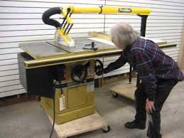 powermatic 10 inch table saw sold used powermatic model 66 3hp table saw us0171 youtube