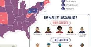 happiest states the 5 states where america s happiest workers live good
