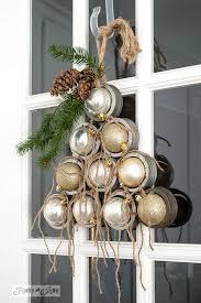 jar lid ornament tree wreath tree