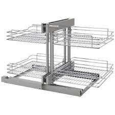 organizer for corner kitchen cabinet rev a shelf 5psp 18sc