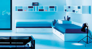 Blue Bedroom Color Schemes Modern Bedroom Color Schemes With Ultra Modern Double Single Bed