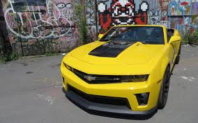 yellow camaro zl1 2013 chevrolet camaro zl1 convertible almost the whole enchilada