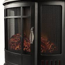 Electric Fireplace Stove Regal 22 Inch Heater Ventless Curved Electric Fireplace Stove