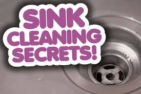 sink cleaning secrets clean my space