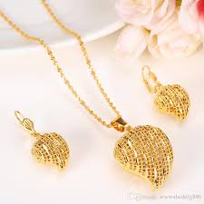 jewellery necklace earring sets images 2018 heart pendant jewelry sets classical necklaces earrings set jpg