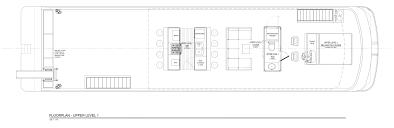 Houseboat Floor Plans by Endeavour Sunrise Peak