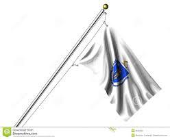 Flag Of Massachusetts Isolated Massachusetts Flag Stock Illustration Illustration Of