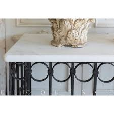 french country style vintage balcony console 1940 kathy kuo home