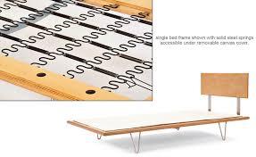 Hive Modern Furniture by Case Study V Leg Bed Hivemodern Com