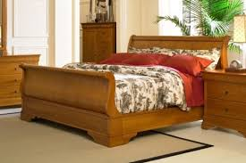 Richardson Brothers Bedroom Furniture Queen Cherry Sleigh Bed 137 Bed West Bros Beds From