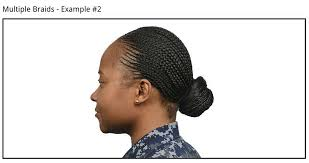 air force female hair standards navy expands female hair regs includes two strand braids
